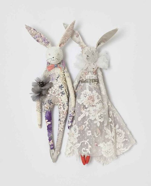 Hares in Bloom by Alice Mary Lynch