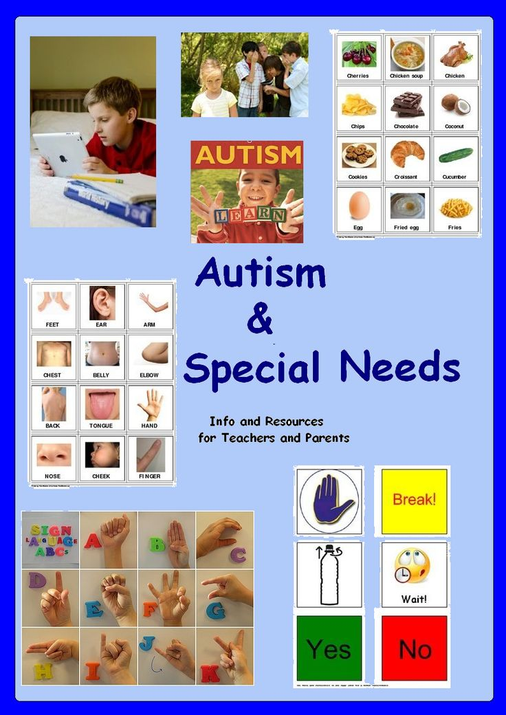 Autism & Special Needs resources for teachers and parents