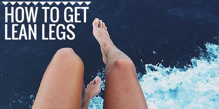 How to get lean legs - Christina Carlyle