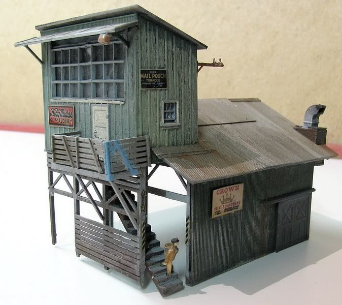 Railroad Line Forums: 17 Best Images About Model Kitbashing And Custom On