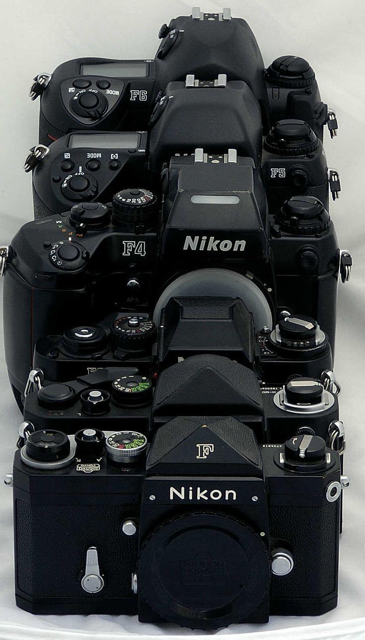Nikon F Series F-F2-F3-F4-F5-F6