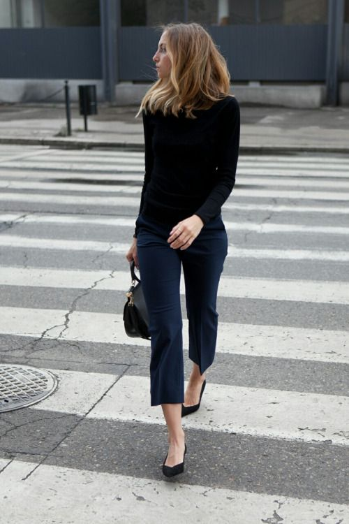 Love this look - Smart but also practical and comfortable.
