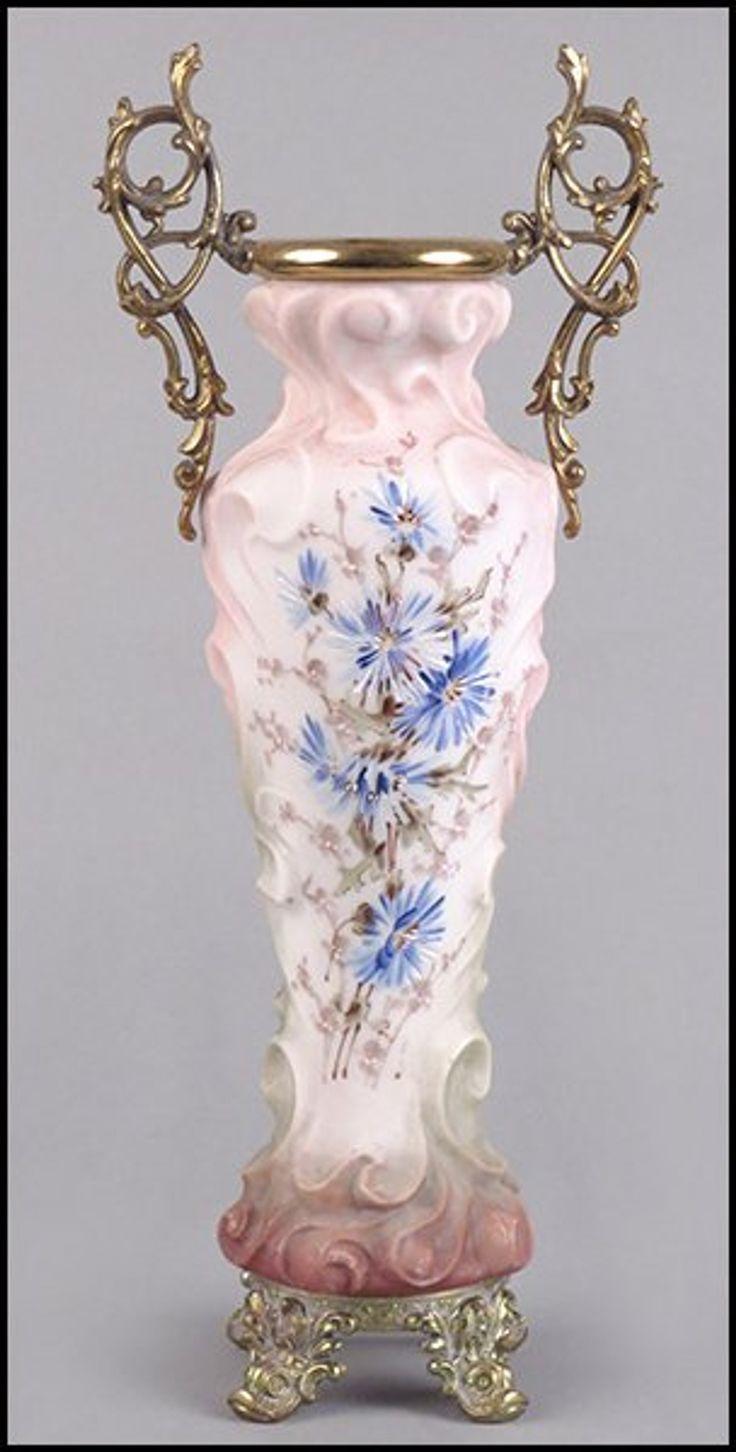 598 best vases images on pinterest flower vases jars and vases wavecrest frosted glass vase reviewsmspy