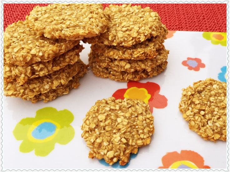 Apfelmus-Haferflocken-Kekse