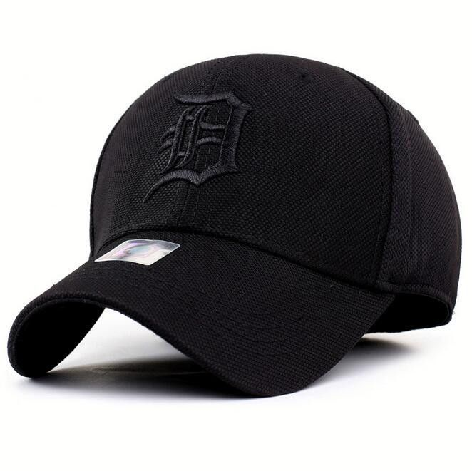 Detroit Tigers Unadjustable Cotton Elastic Fitted Baseball cap/hat
