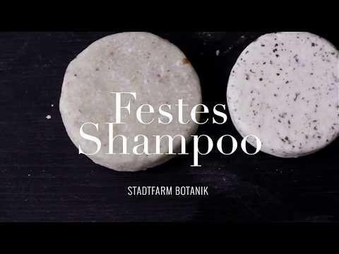 Rezeptur & Video: Festes Shampoo Selber machen / DIY SOLID SHAMPOO