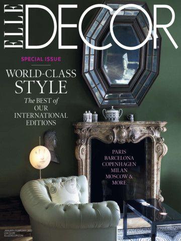 Elle Decor Magazine iPad Screenshot 9 found on AnyKey.Com