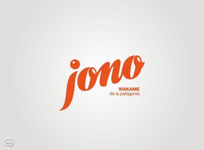 Logo design for Jono Wakame de la Patagonia by Materia 360. Graphic Design