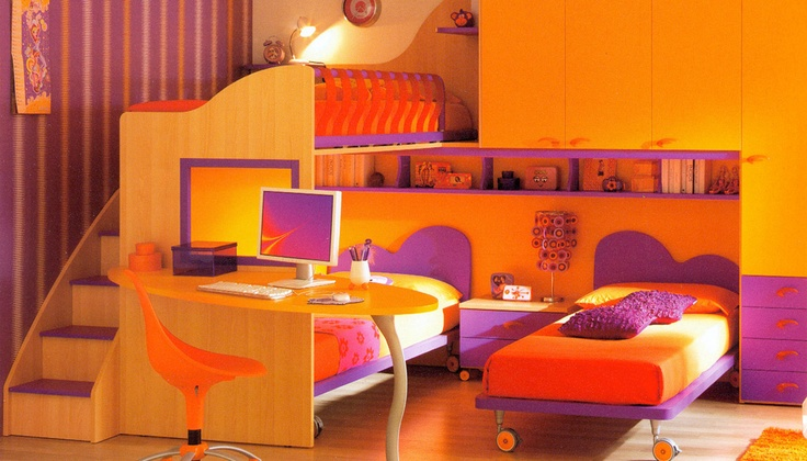 17 migliori immagini su camerette bambini su pinterest - Camerette per bambini firenze ...