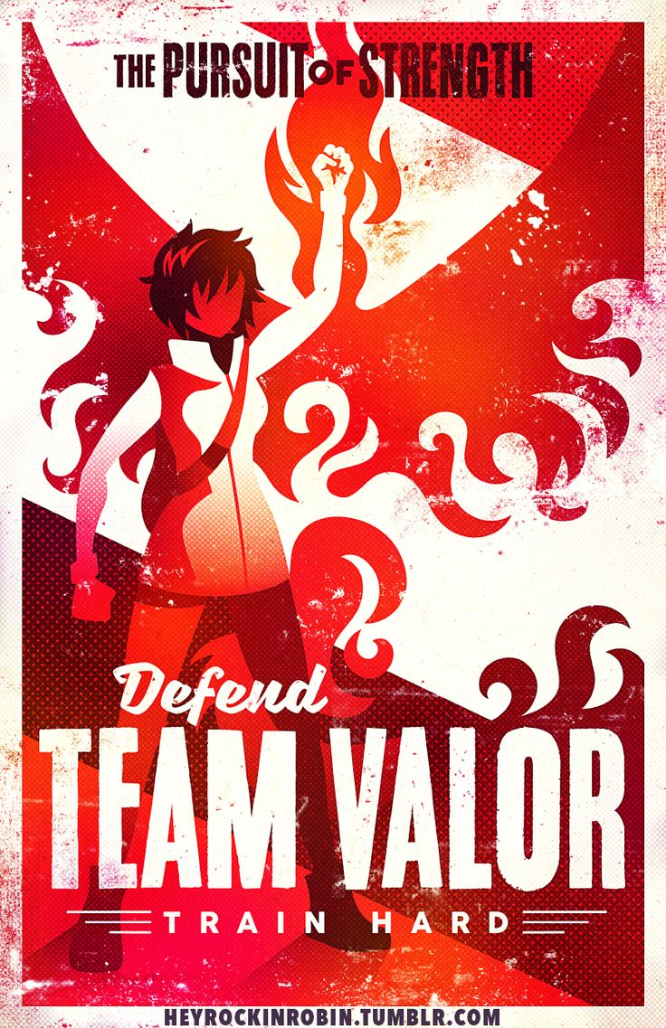 "Support+Team+Valor!  Printed+on+11x17""+matte+light+cardstock."