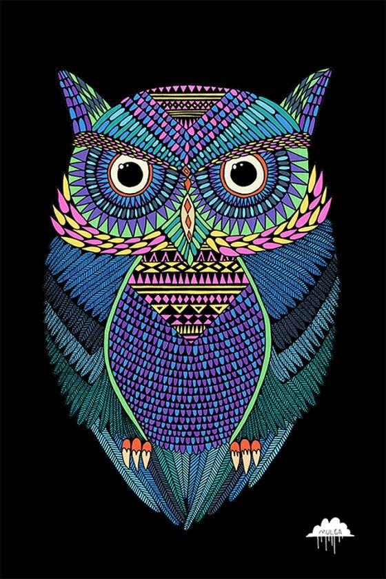 Muga-the-Artist-Michael-the-Magical-Owl