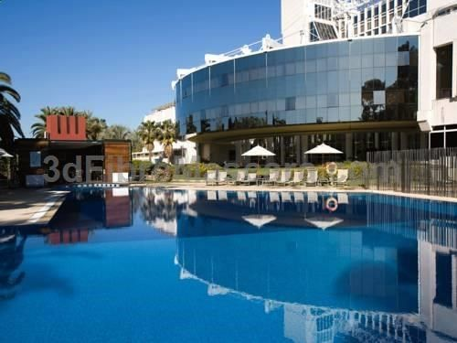 Silken Al-Andalus Palace Sevilla Silken Al-Andalus Palace Hotel is just 10 minutes' drive from Sevilles historic centre. It offers a gym, beauty salon and a seasonal outdoor pool, as well as terraces, gardens and open spaces to relax in.