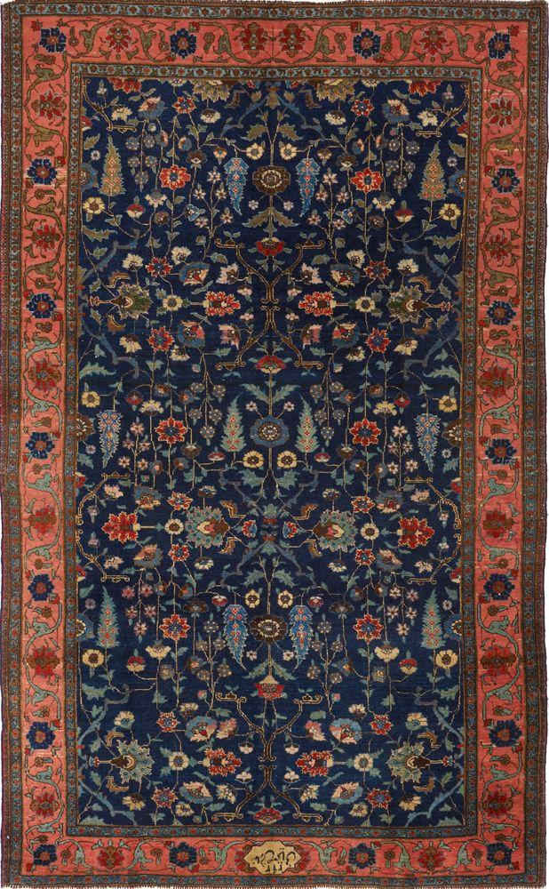 Persian Tabriz rug, signed, Matt Camron gallery