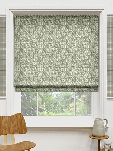 Leafy Fern Roman Blind from Blinds 2go