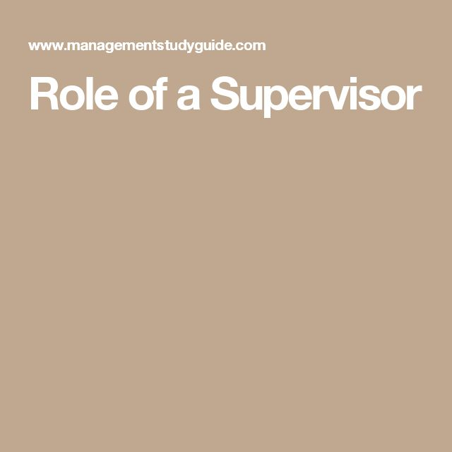 role of a supervisor supervisor interview questions - Supervisor Interview Questions