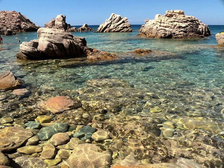 Beaches of Costa paradiso village - Trinità d'Agultu Sardinia - Sardinia