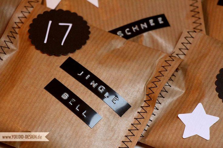 25 einzigartige adventskalender t ten ideen auf pinterest diy adventskalender t ten. Black Bedroom Furniture Sets. Home Design Ideas