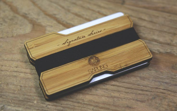 Sapling Signature Series Wood Wallet V2