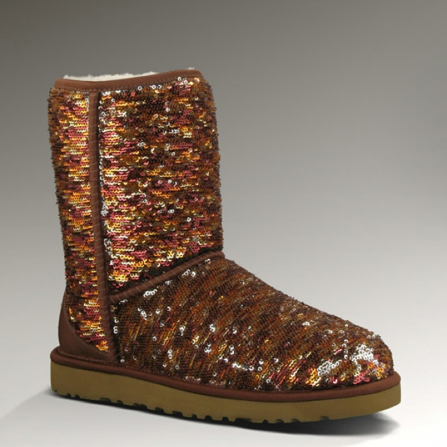 sparkle autumn colored uggs. love.