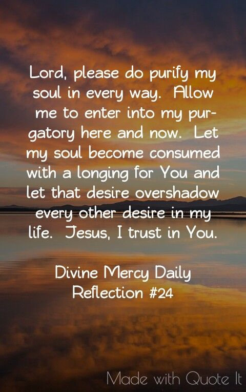 Divine Mercy Daily Reflection 24 Bible Saints Religious Quotes