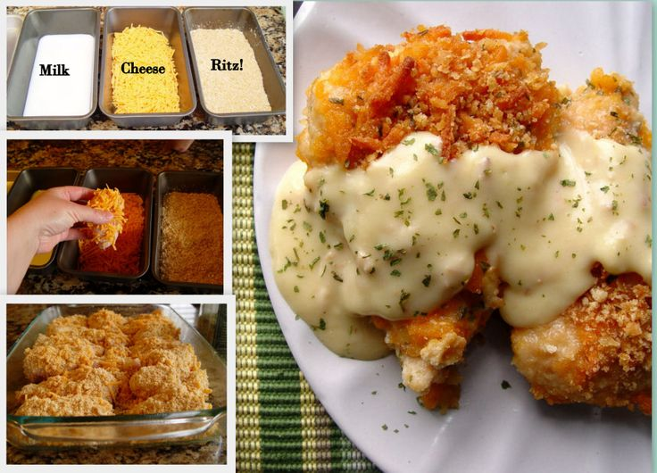 Crispy Cheddar Chicken - Seriously, you'll be making this weekly :)