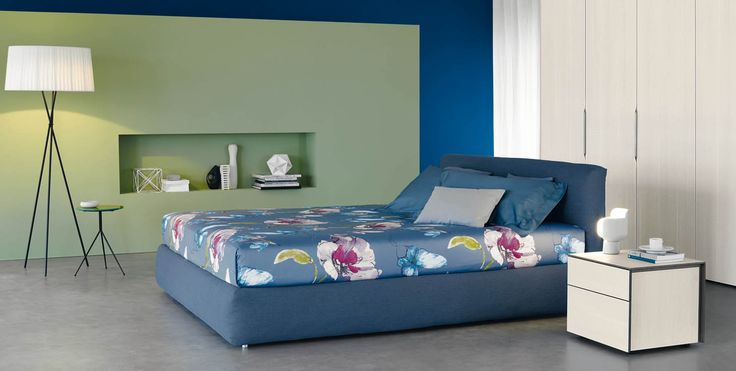 Merkurio http://www.flou.it/it/products/beds/merkurio_75 #flou #bed #beds #colors #spring