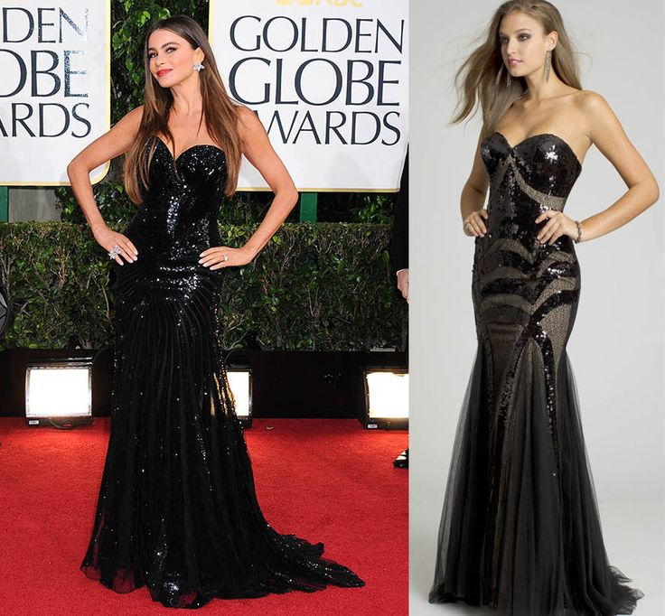 sofia-vergara-dress-golden-globes-2013-camille-la-vie