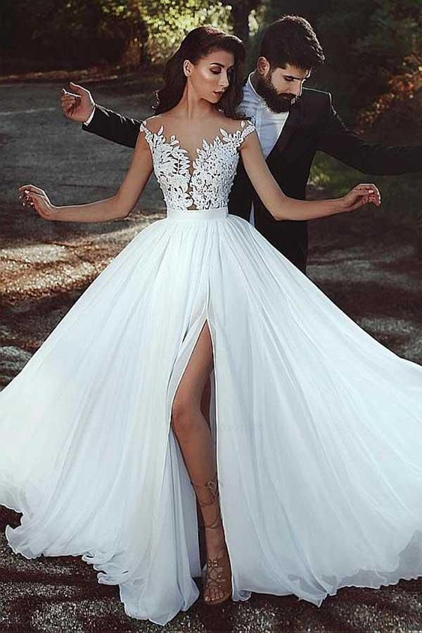 Chiffon Wedding Gowns Outlet