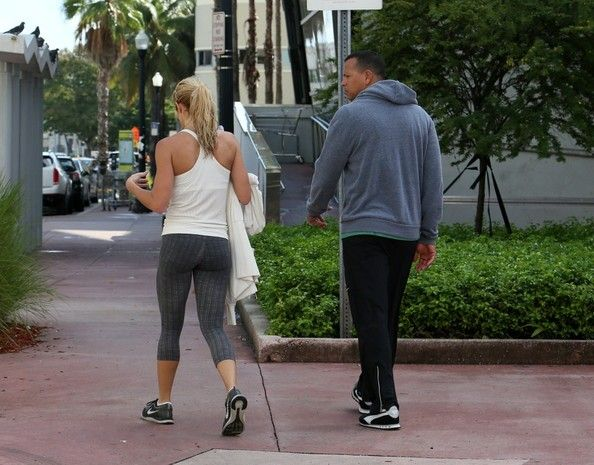Torrie Wilson Photos - Alex Rodriguez and His Girlfriend Take a Stroll - Zimbio