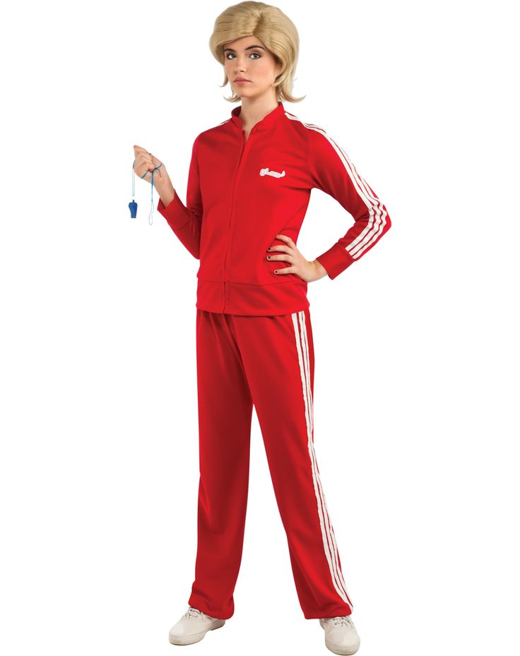 Glee Sue Red Track Suit Adult Womens Costume  sc 1 st  Pinterest & 35 best Halloween costumes images on Pinterest | Halloween costumes ...