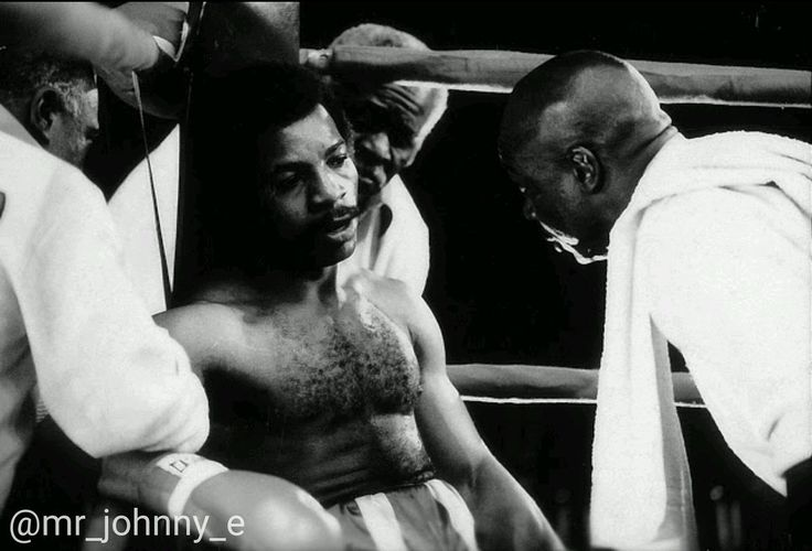 """The late-great Tony Burton as """"Duke"""" Evers with @TheCarlWeathers #ROCKY 1976-2016 40 years"""