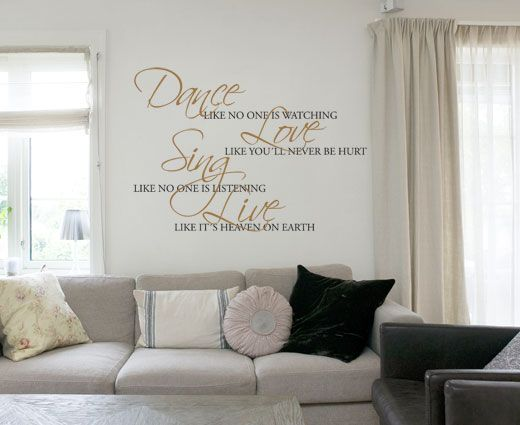 Dance - En eksklusiv og vakker wallsticker.