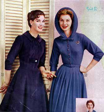 1950s womens' fashion