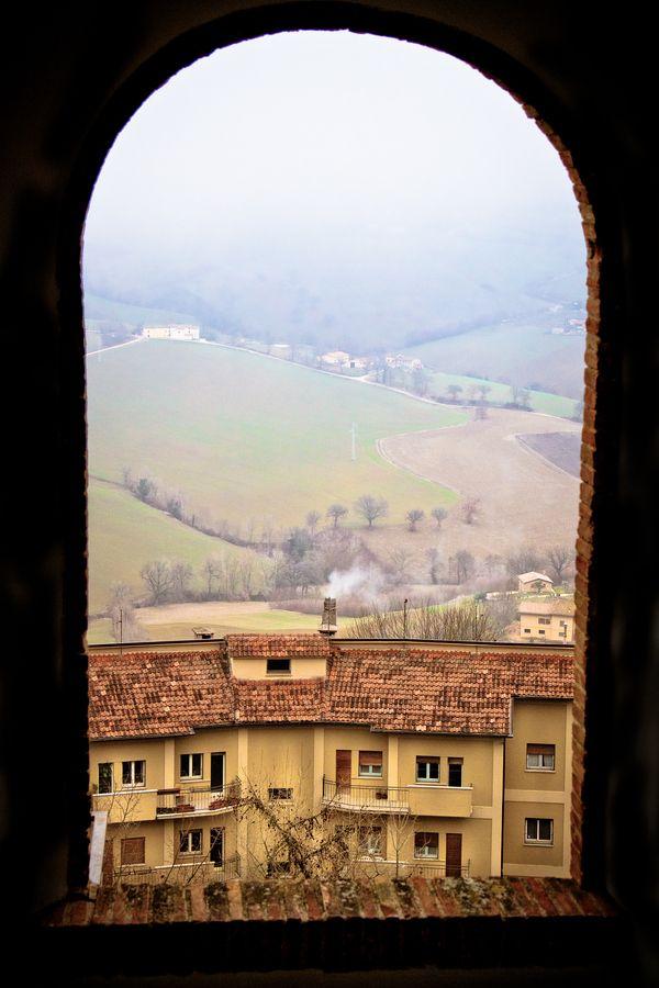 Town of Camerino, Macerata, Italy
