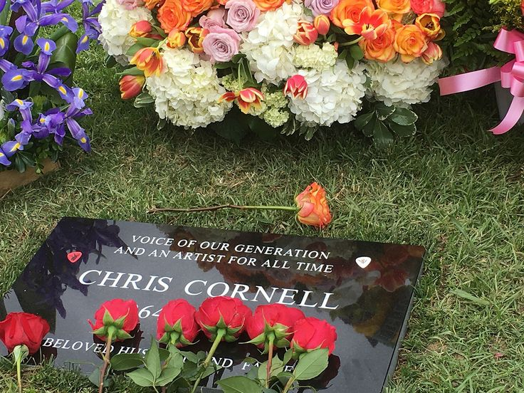 Chris Cornell Laid to Rest in California... I don't want to put this in Just stuff I love board