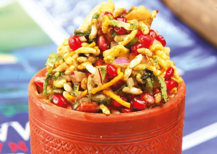 Dabbawal's brilliant Bhel Puri. Follow link for full recipe from appetite, North East England's dedicated food & drink publication.