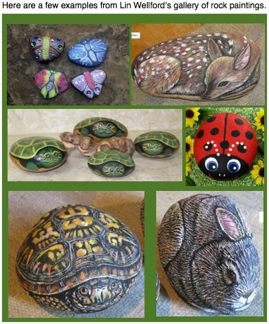 Rock painting 391 470 pixels cooking - Painting rocks for garden what kind of paint ...