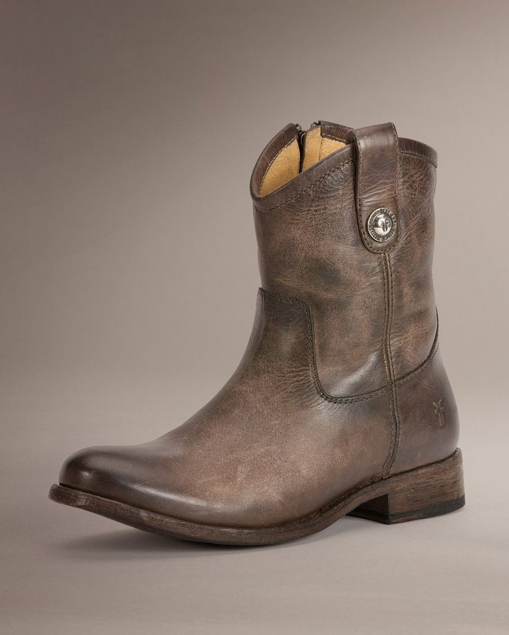 Melissa Button Short - Women_Boots_Riding - The Frye Company