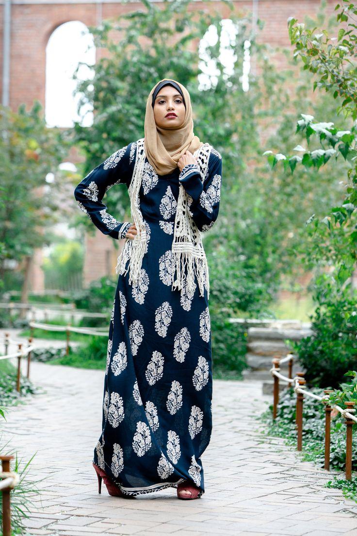 Autumn Boho Chic Maxi Dress