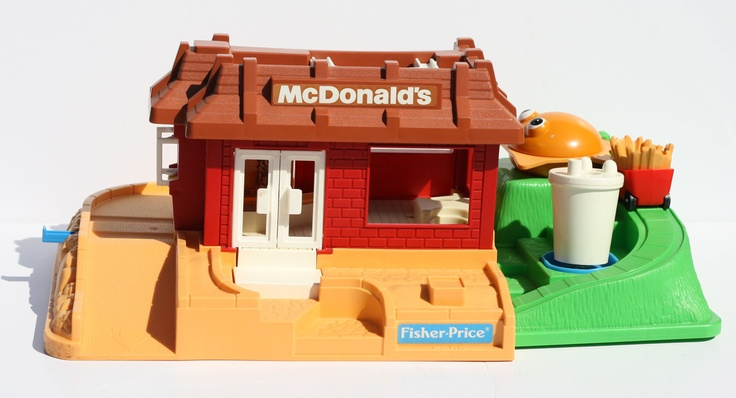 McDonalds Play Restaurant Set | ... Fisher Price Little People McDonald's Restaurant Play Set Model 2552