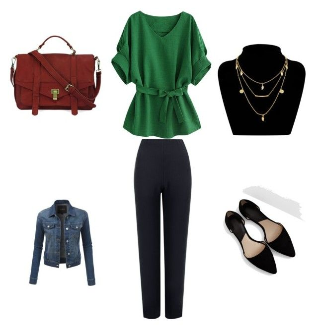 """Stephanie's outfit for work/weekend"" by maggiesitek on Polyvore featuring WearAll, MANGO and LE3NO"