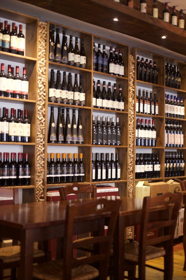 Walls of wine, room 16