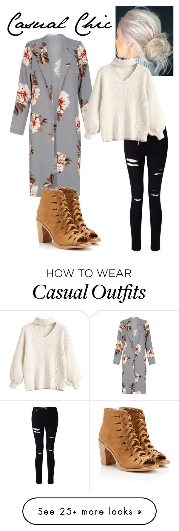 """""""casual chic"""" by rockstar-ninja-7 on Polyvore featuring Miss Selfridge"""
