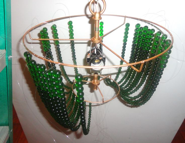 home made ceiling lamps   floor lamps ceiling lamps teen lamps the exquisite beaded chandelier ...