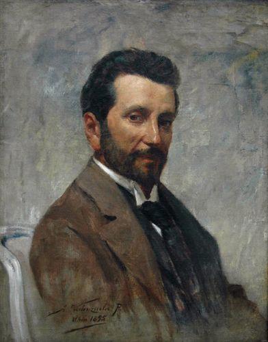 RETRATO DE JUAN FRANCISCO GONZALEZ, 1895 Óleo sobre tela 70 x 55 cm Museo Nacional de Bellas Artes, Santiago, Chile