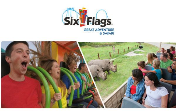 Enter To Win Tickets To Six Flags Great Adventure Six Flags Great Adventure Win Tickets Greatest Adventure