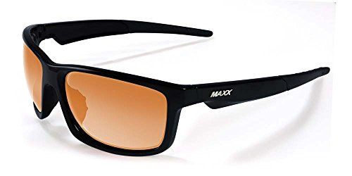 2017 Maxx Sunglasses TR90 Maxx Retro 20 HD Black Amber Lens * Want to know more, click on the image.