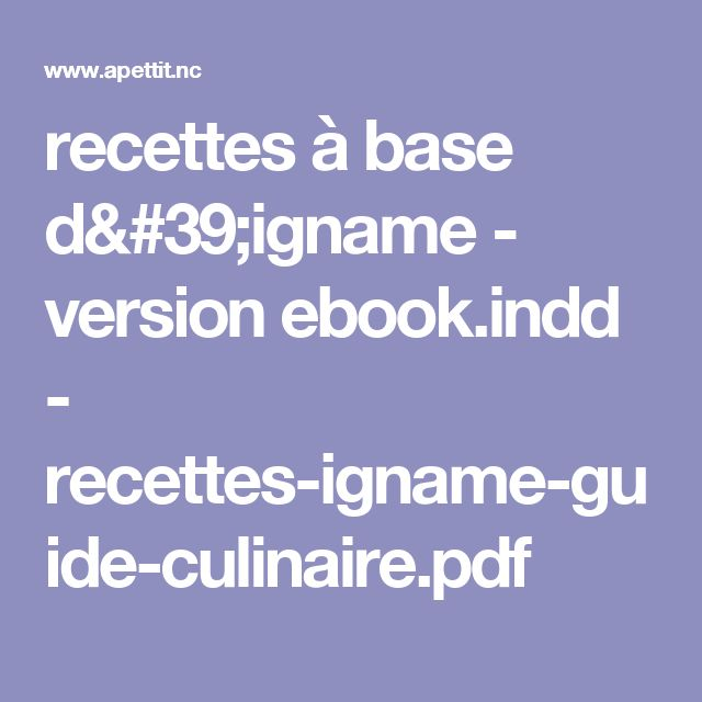 recettes à base d'igname - version ebook.indd - recettes-igname-guide-culinaire.pdf