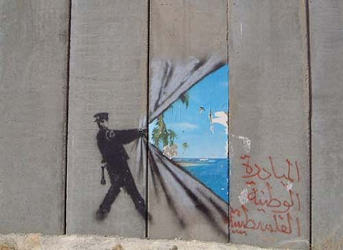 (West Wall Barrier, Palestine, 2005)