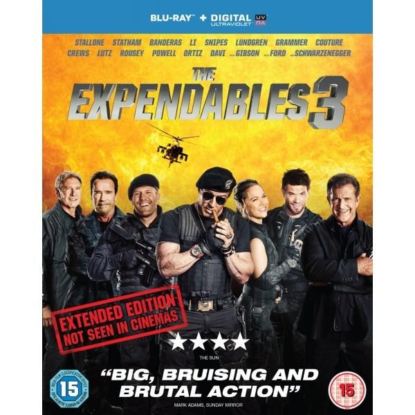 http://ift.tt/2dNUwca | The Expendables 3 Extended Edition Blu-ray | #Movies #film #trailers #blu-ray #dvd #tv #Comedy #Action #Adventure #Classics online movies watch movies  tv shows Science Fiction Kids & Family Mystery Thrillers #Romance film review movie reviews movies reviews